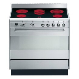 SMEG Concert SUK91CMX9 Range Cooker Ceramic 90cm Stainless Steel Reviews
