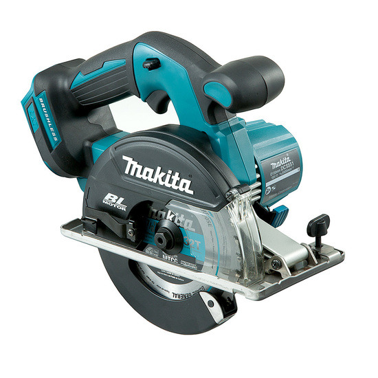 Makita DCS551ZJ Metal Saw 18V LTX Brushless 150mm (Body Only)