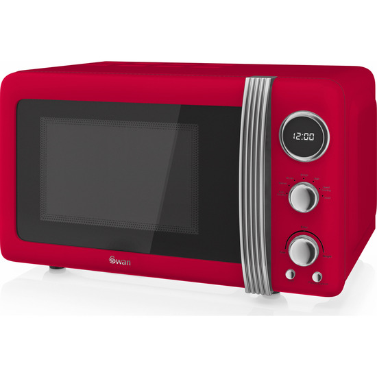 Retro Digital SM22030RN Solo Microwave - Red
