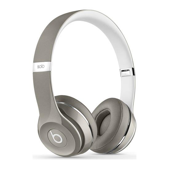 Solo 2 Headphones - Luxe Edition, Silver