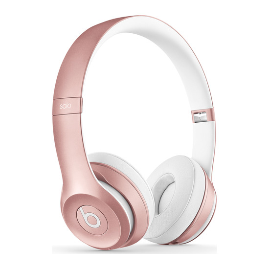 Beats by Dr. Dre Solo 2 Wireless Bluetooth Headphones - Rose Gold