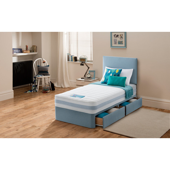 Silentnight Dream Explorer Healthy Growth Divan - Blue