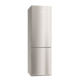 Miele KFN29233Dedt Reference Click2Open 201x60cm Frost Free CleanSteel Freestanding Fridge Freezer