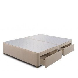 Sleepeezee Divan Base - 4 Drawer - Marble - Double 4ft6 Reviews