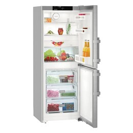 Liebherr CNef3115 Fridge Freezer Freestanding NoFrost 260 litre Silver Reviews
