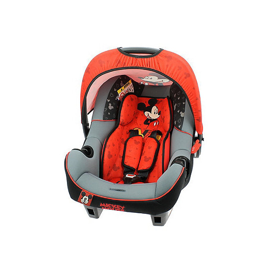 Disney Mickey Mouse BeoneSP Luxe Group 0+ Car Seat