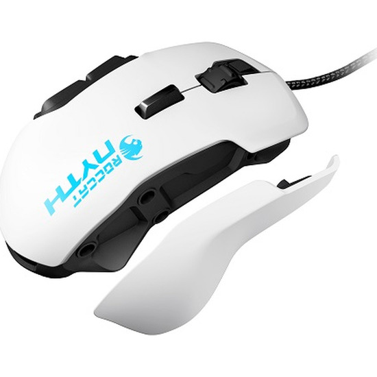 ROCCAT Nyth Modular MMO Laser Gaming Mouse - White