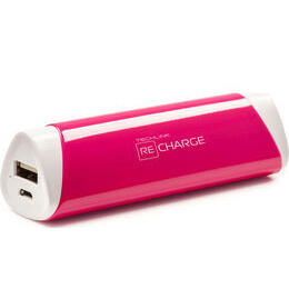 Recharge 2600 Universal USB Travel Charger - Pink Reviews
