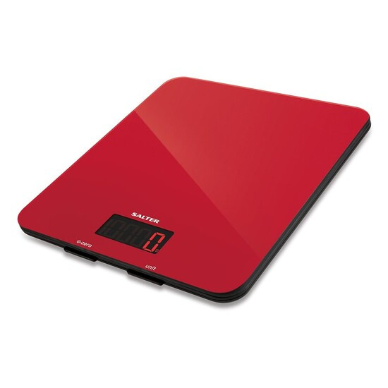 Salter 5kg Glass Electronic Kitchen Scales