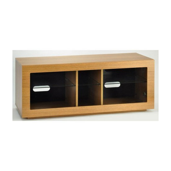 TNW Murano 1250 Oak TV Stand For Up To 60  TVs