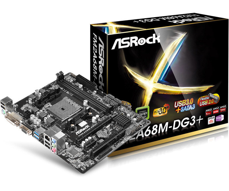 ASRock FM2A68M-DG3+ Reviews - Compare Prices and Deals - Reevoo