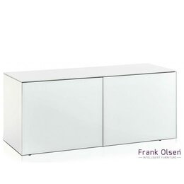 Frank Olsen INTEL1100WHT White TV Cabinet For TVs Up To 55 Reviews