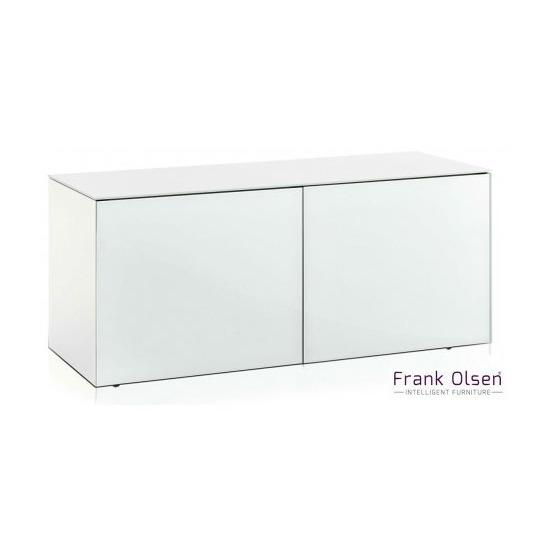 Frank Olsen INTEL1100WHT White TV Cabinet For TVs Up To 55