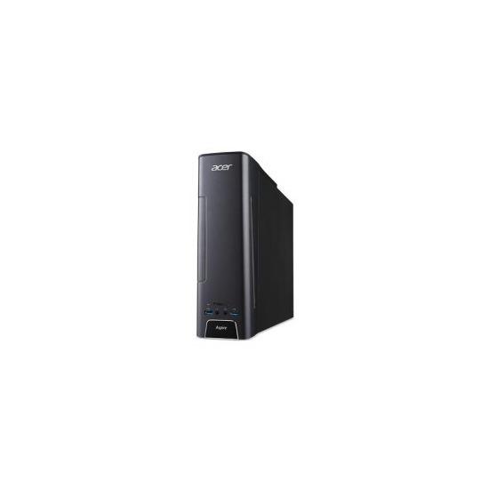 Acer Aspire AX3-710 Core i7-6700 12GB 2TB + 8 GB SSD AMD R7-340 2GB DVD-RW Windows 10 Gaming Desktop