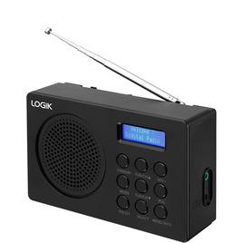 Logik L2DAB16 Portable DAB/FM Radio - Black Reviews