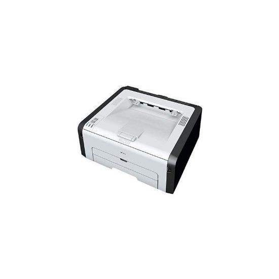 Ricoh SP211 Mono Laser Printer USB 22ppm 1200x600dpi 150 sheet paper tray