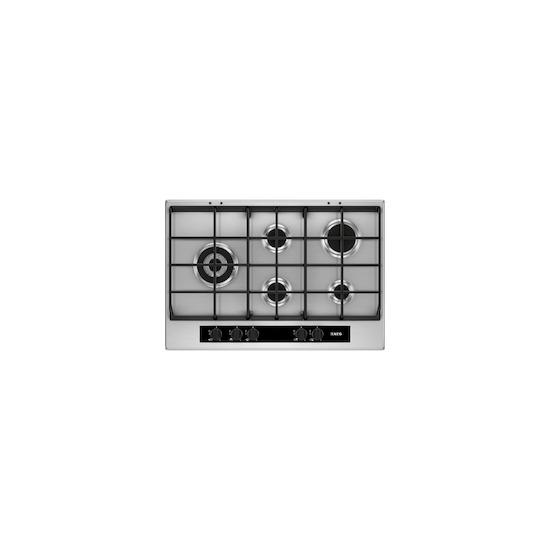 AEG HG755550SY Stainless steel 5 burner gas hob
