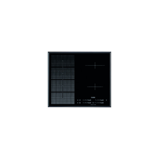 AEG HKP65410FB Black 4 zone induction hob