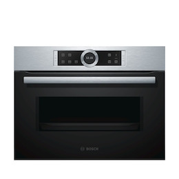 Bosch CFA634GS1B Stainless steel Compact combination microwave oven Reviews