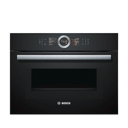 Bosch CMG656BB6B Black Compact combination microwave oven Reviews