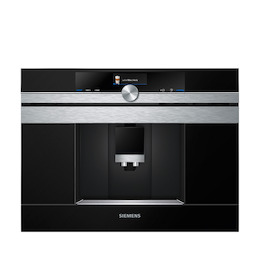 Siemens CT636LES6 Stainless steel Built in coffee machine Reviews