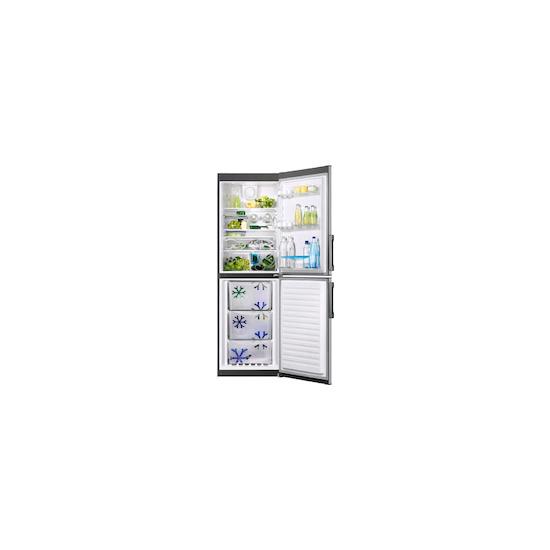 Zanussi ZRB35426XA Stainless steel Freestanding frost free fridge freezer