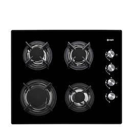 Caple C743G Black glass 4 burner gas hob Reviews