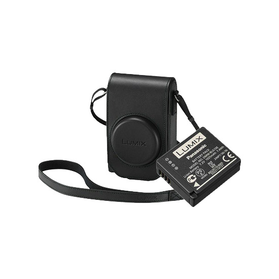 Panasonic Accessory Kit for the DMC-TZ100 - Black Case