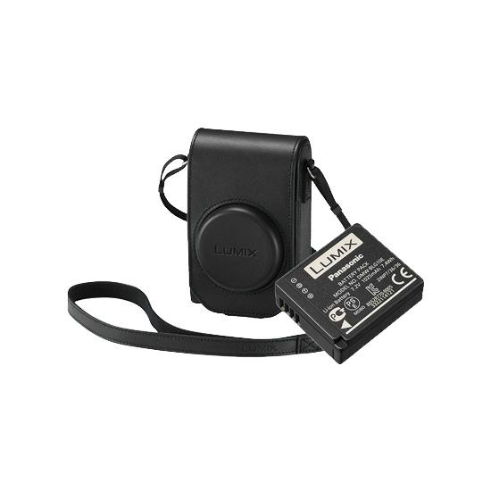 Panasonic Accessory Kit for the DMC-TZ100 - Black Case