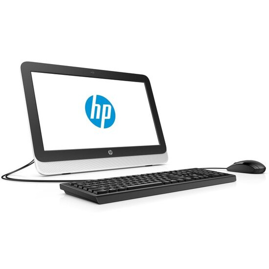 "HP AIO 22-3140na Desktop PC AMD Quad-Core A4-6210 1.8 GHz 4GB RAM 1TB HDD 21.5"" FHD Touch DVDRW AMD HD 8330 WIFI Webcam Windows 10 Home 64bit"