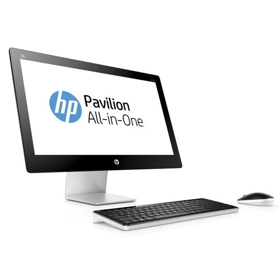 "HP Pavilion 23-q125na AIO Desktop Intel Pentium G3260T 2.9GHz 8GB RAM 1TB HDD 23"" FHD Touch DVDRW Intel HD WIFI Webcam Bluetooth Windows 10 Home 64bit"