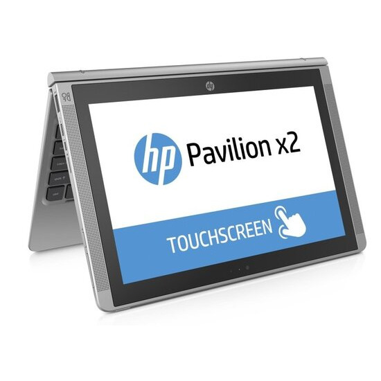 HP Pavilion X2 Detachable Laptop Intel Core M3-6Y30 900MHz 4GB RAM 128GB SSD 12 Touch No-DVD IntelHD WIFI Webcam Bluetooth Windows 10 64bit