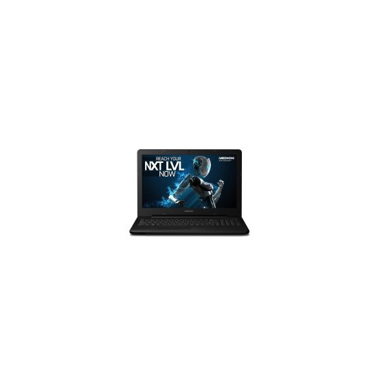 Medion Erazer P6661 Core i7-6500U 8GB 1TB + 256GB SSD Nvidia GTX950M 4GB 15.6 Inch Windows 10 Gaming Laptop