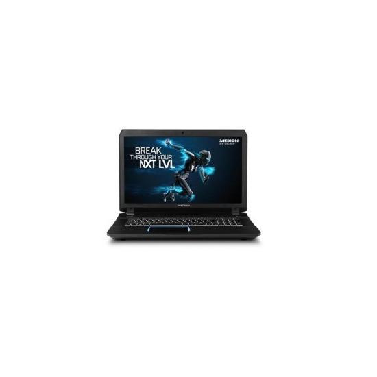 Medion Erazer X7843 Intel Core i7-6700HQ 16GB 1TB + 256GB SSD Nvidia GTX980 4GB 17.3 Full HD Windows 10 Gaming Laptop