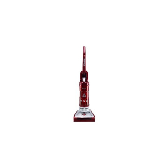 Hoover TP71 TP06001 Turbo Power Bagless Upright Vacuum Cleaner Red And Silver