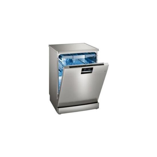 Siemens SN278I26TE Freestanding Dishwasher in silver inox