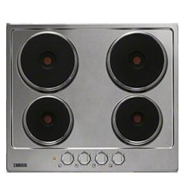 Zanussi 949800922 4 Electric Hob in Stainless steel Reviews