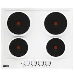 Zanussi 949800923 4 Electric Hob in White Reviews