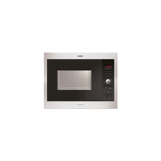 AEG 947608532 Built Microwave Oven Stainless steel with antifingerp