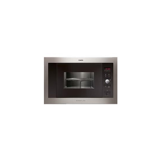 AEG 947608536 Built inclusive frame Microwave Oven Stainless steel with antifingerp