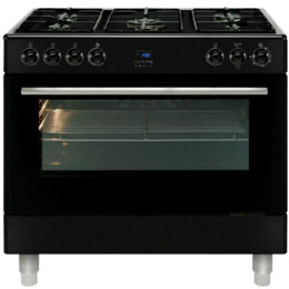 MLN9FRK 90 cm Dual Fuel Range Cooker - Black Reviews