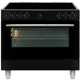 MLN9CRK 90 cm Electric Ceramic Range Cooker - Black Reviews