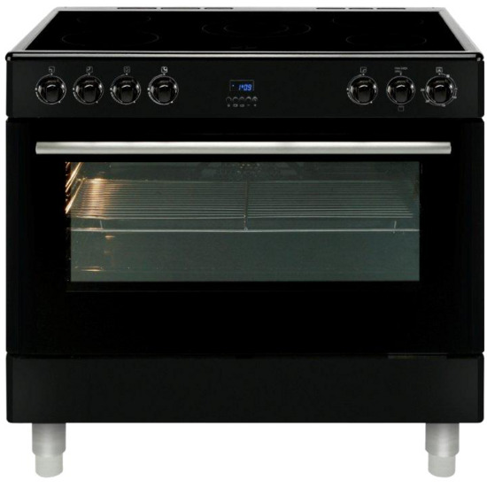 MLN9CRK 90 cm Electric Ceramic Range Cooker - Black