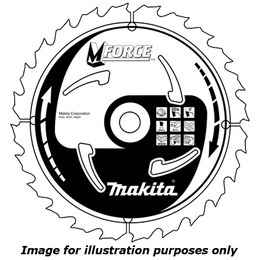 Makita B-07967 M Force Circular Saw Blade Course Cut 190mm Reviews