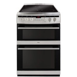 Amica 608DCE2TAXX Freestanding 60cm Double Oven Electric Cooker Stainless Steel Reviews