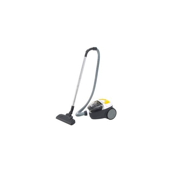 Zanussi ZAN1910UEL CyclonClassic All Floor Cylinder Vacuum Cleaner Grey Black & Yellow