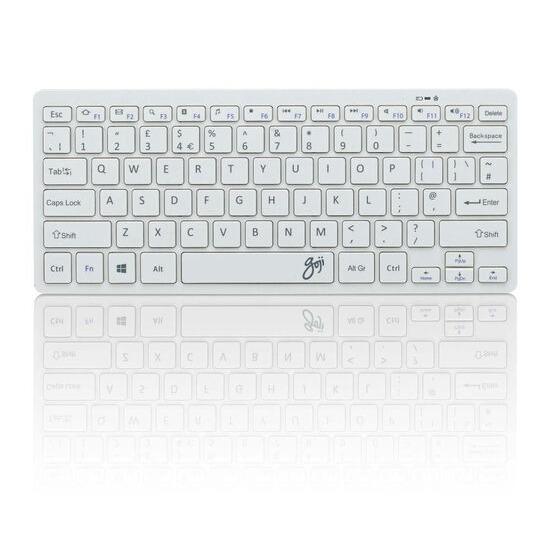 GOJI GKBMMWH16 Wireless Keyboard - White