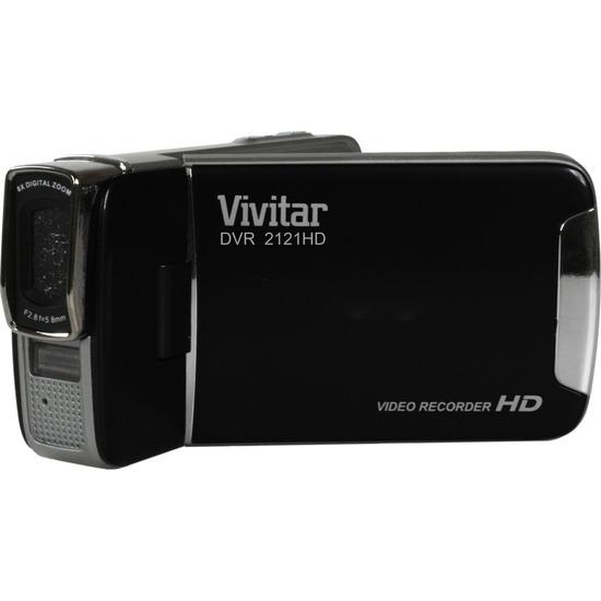 Vivitar DVR2121 Traditional Camcorder - Black