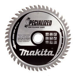 Makita B-09298 Specialized Circular Saw Blade for Plunge Saws 165 x 20 x 48T Reviews