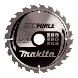 Makita B-08355 MAKFORCE Circular Saw Blade for Portable Saws 190 x 30 x 24 Tooth Reviews